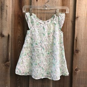 Old Navy: Watercolor Flower Design Dress